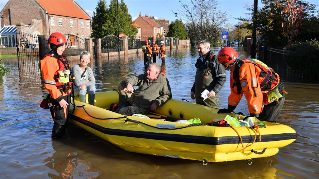 PM told 'You've took your time' as he visits flood-hit communities