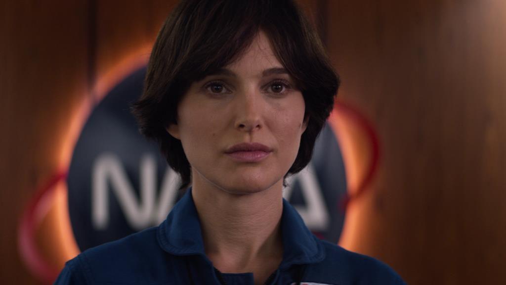 Star-crossed:  Natalie Portman as Captain Lisa Nowak