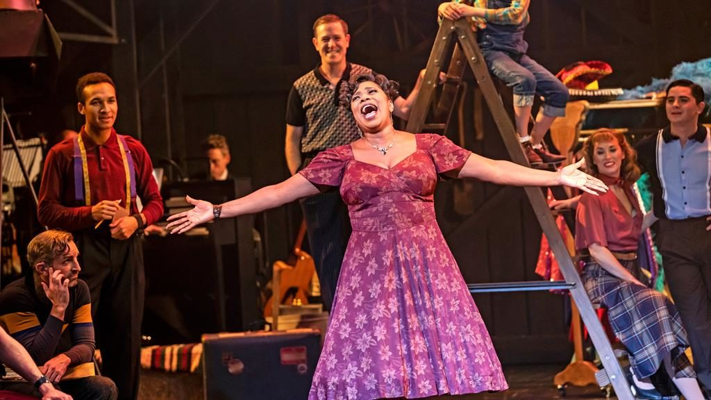 Life on stage: Since X Factor, Brenda has enjoyed an impressive career in musicals PICTURE: JOHAN PERSSON