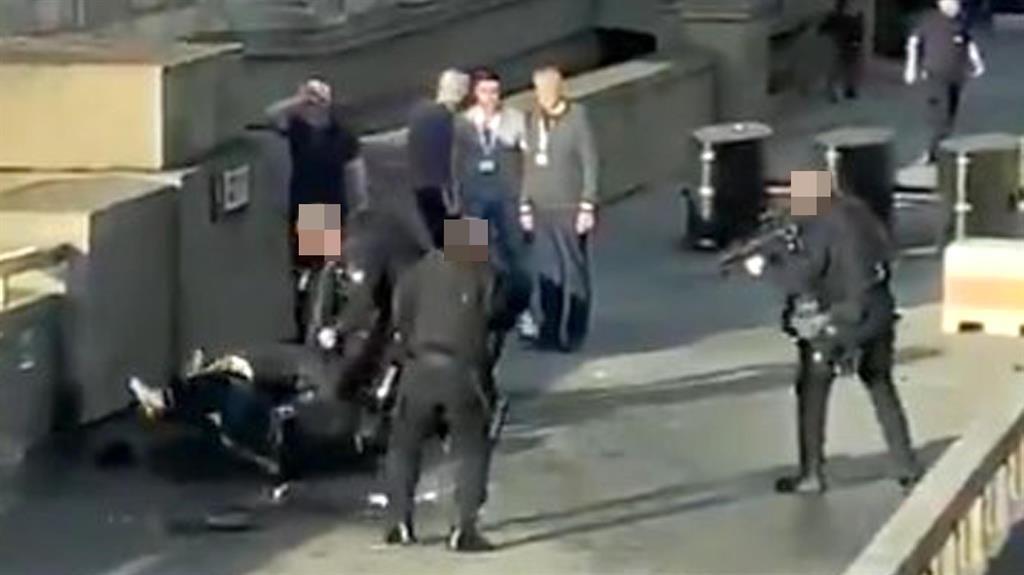 Stark reminder: London Bridge attack PICTURE: PA