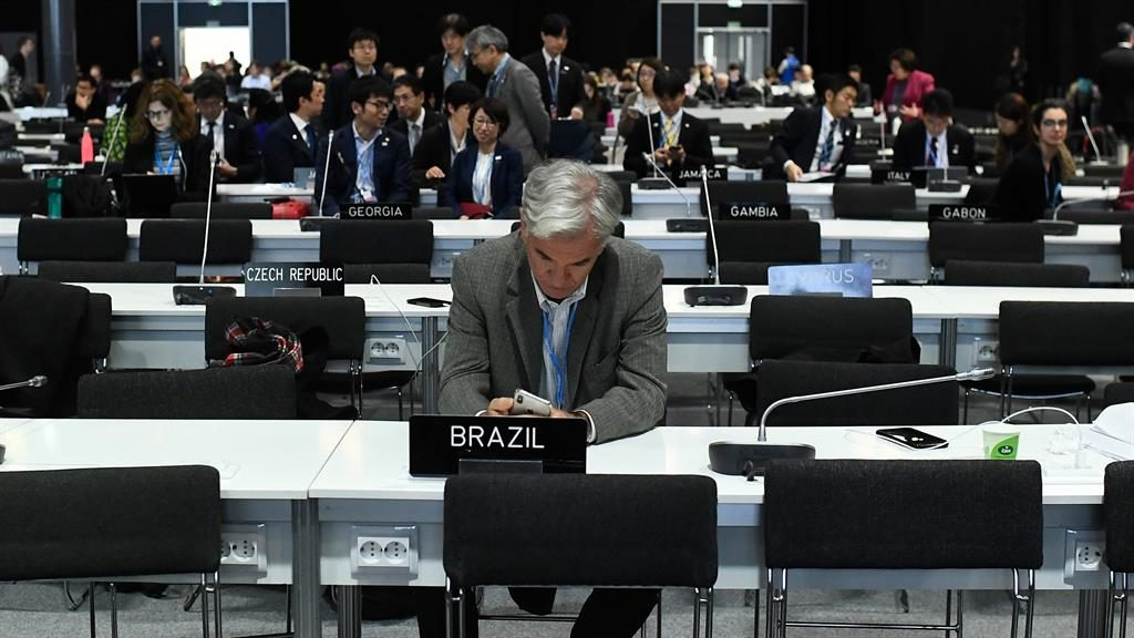 Divisions: Delegates in Madrid PICTURE: GETTY