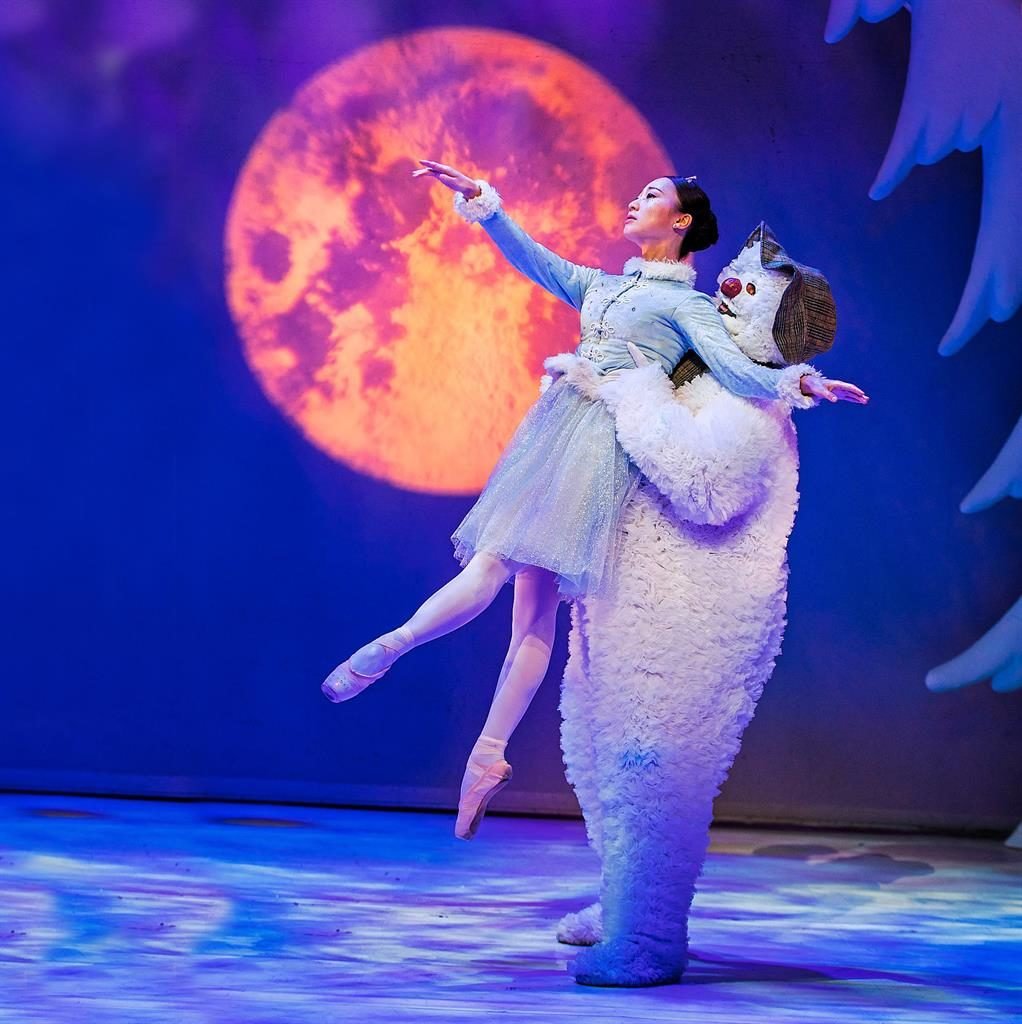 Best in snow: The Snowman has been delighting audiences at the Peacock Theatre since 1997