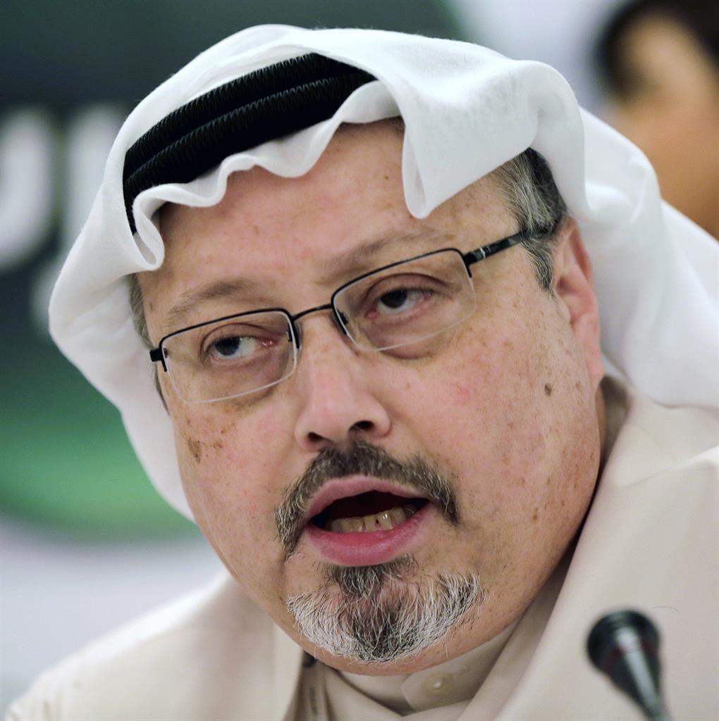 Killed: Mr Khashoggi was last seen walking into the Saudi Arabian consulate in Istanbul in October 2018 PICTURE: AP