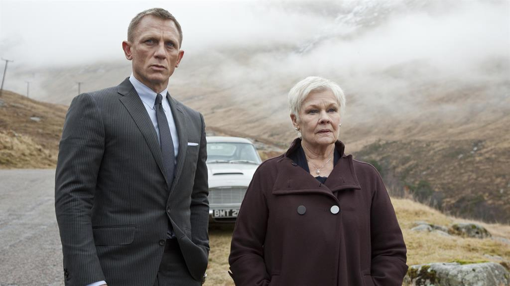 Judi Dench thinks Idris Elba might be the James Bond
