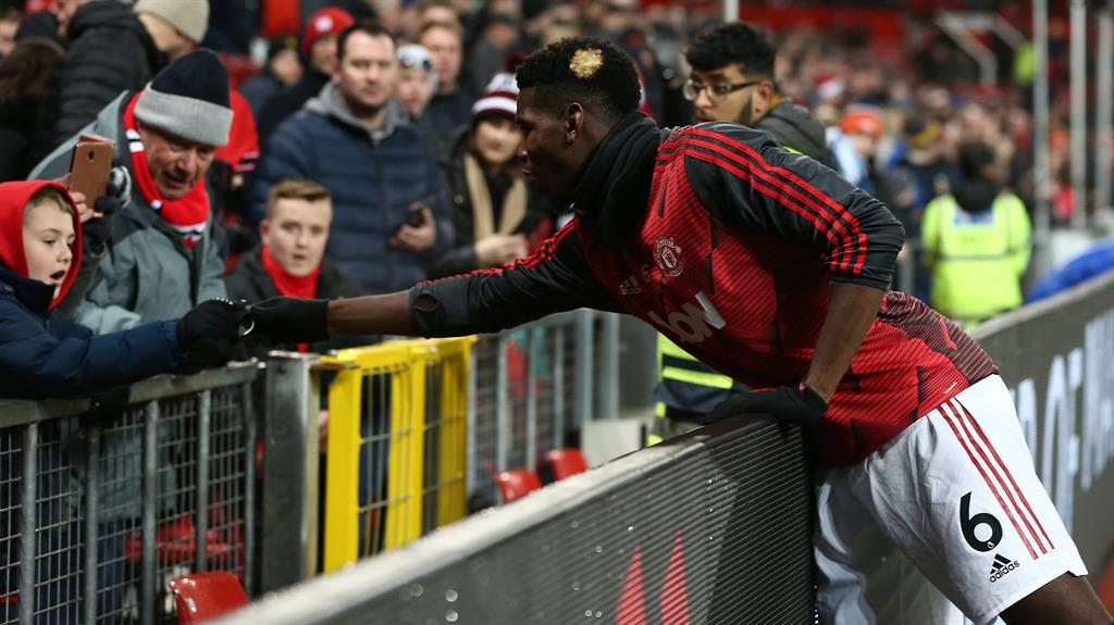 Paul Pogba hopes to 'make people talk' with anti-racism wristbands