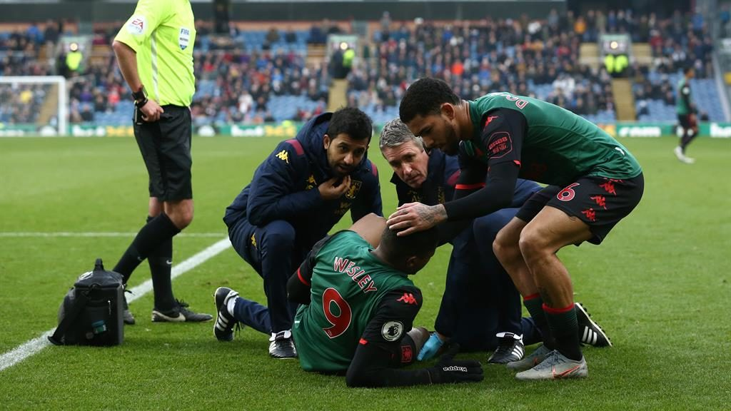 Injury blow: Wesley PICTURE: GETTY