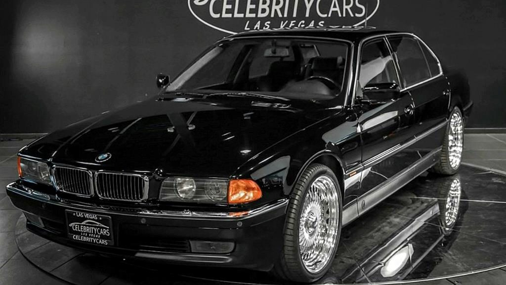 Death Row motor: The BMW rapper Tupac was shot in is for sale, with one of the original bullet holes (below) PICTURES: SWNS