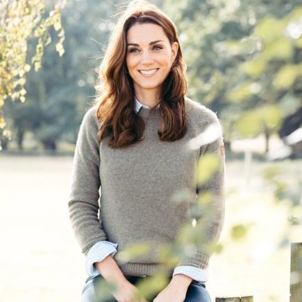 All smiles: Kate in a tweet thanking well-wishers PICTURE: MATT PORTEOUS