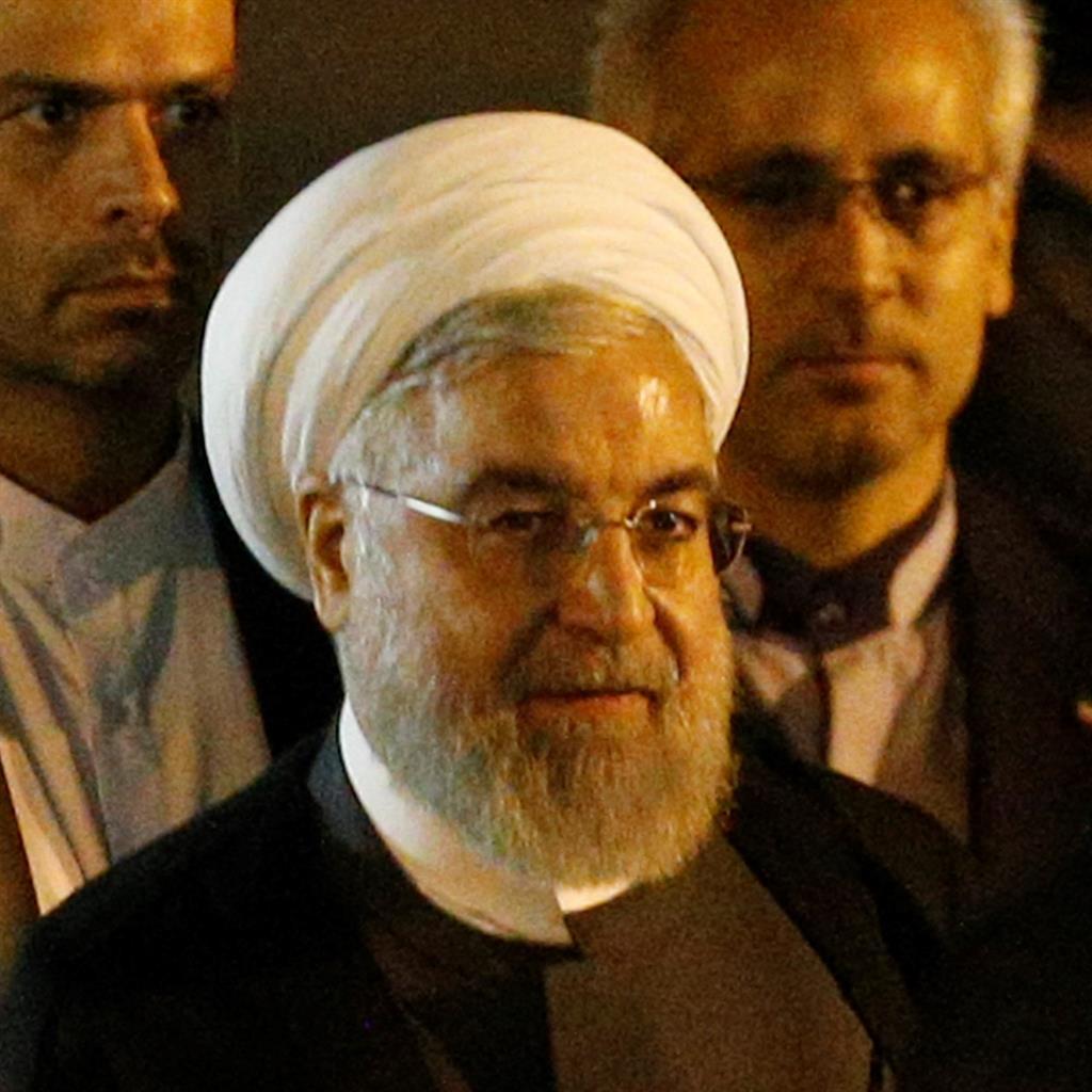 Warning: Hassan Rouhani PICTURE: ANADOLU