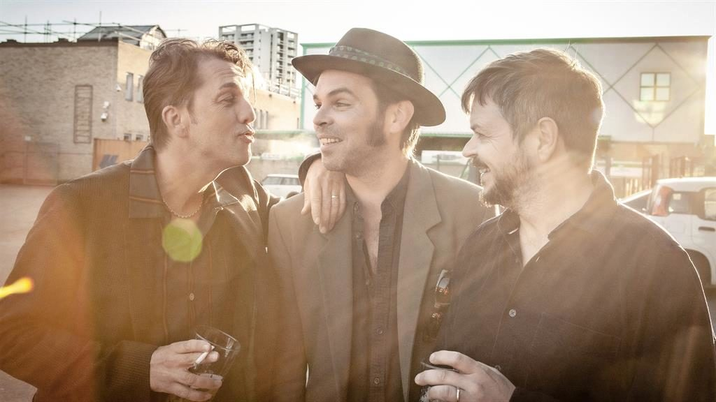 We've Seen The Light: Danny Goffey, Gaz Coombes and Mick Quinn PICTURE: ALEX LAKE/Q