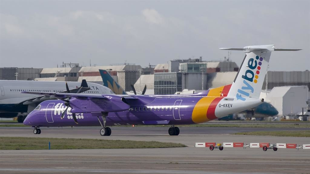 Turbulent times: A Flybe plane PICTURE: PA
