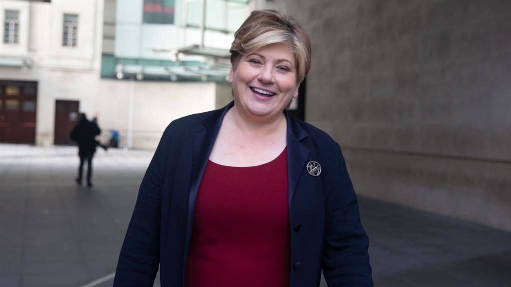 Just made it: Emily Thornberry PICTURE: REX