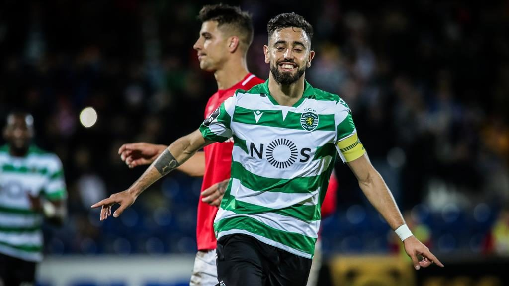 Extra options: Bruno Fernandes PICTURE: EPA