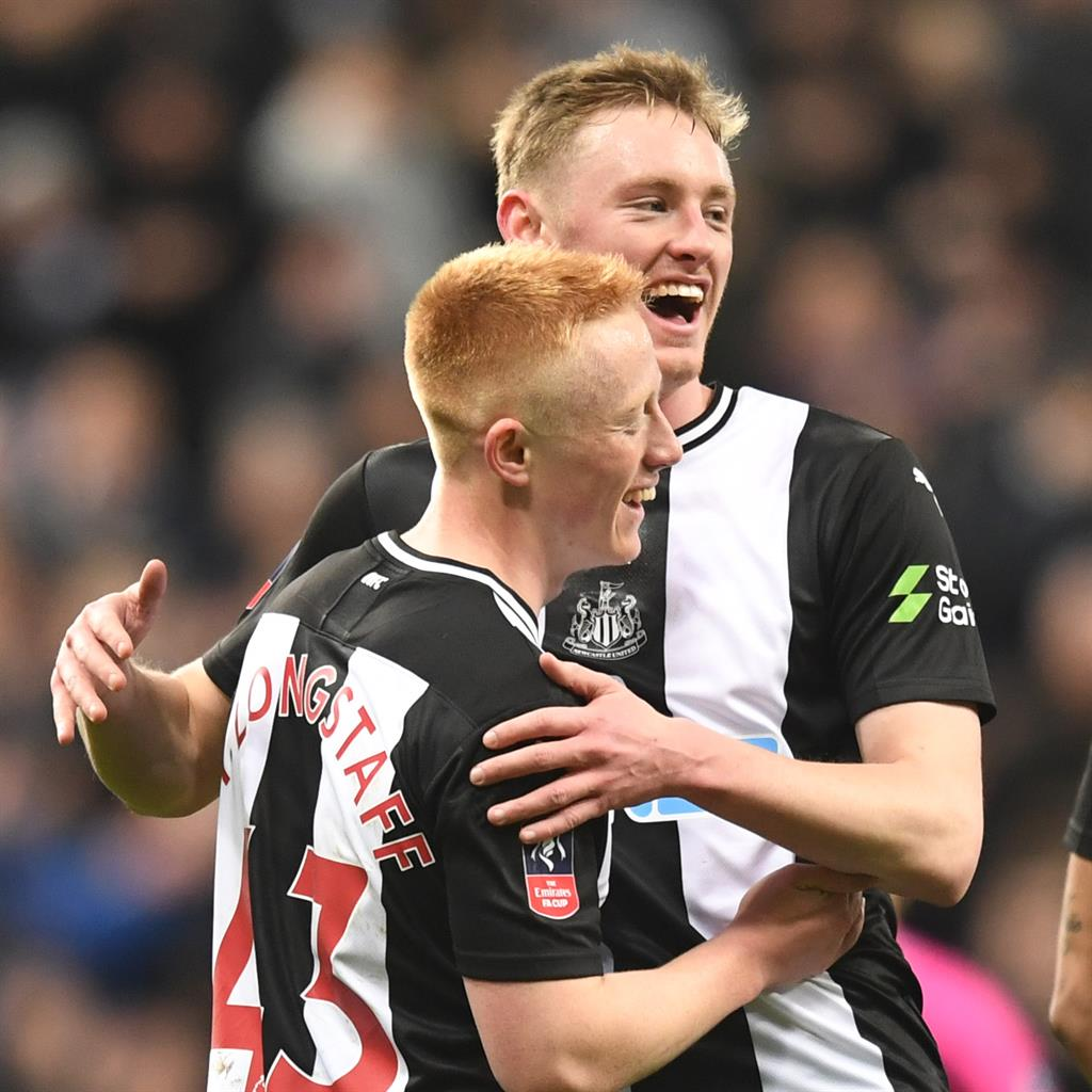 Oh brother: Matty and Sean Longstaff PICTURE: REX