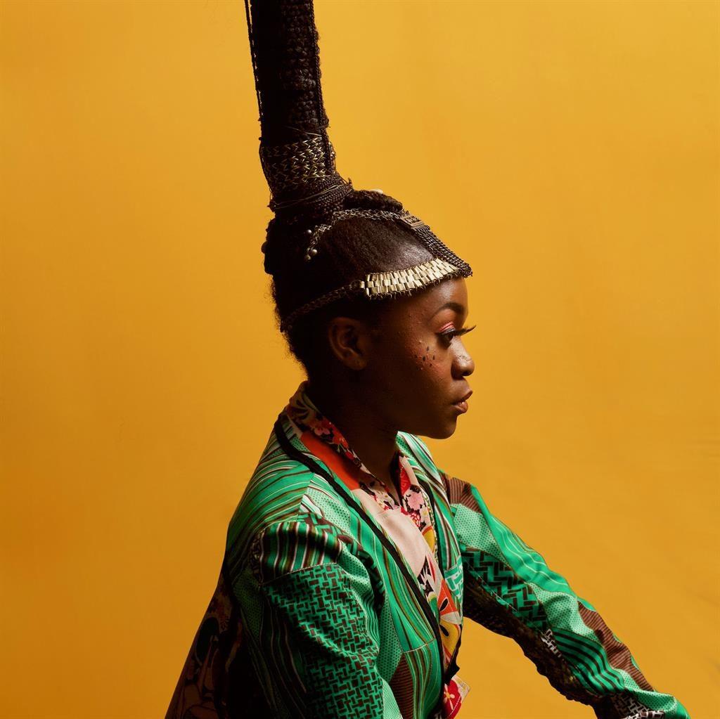 Hair-raising: Sampa has won props for her dreamy, soulful hip-hop