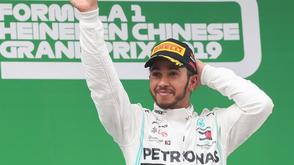 Raring to go: Lewis Hamilton will be hoping to match last year's success PICTURE: REX