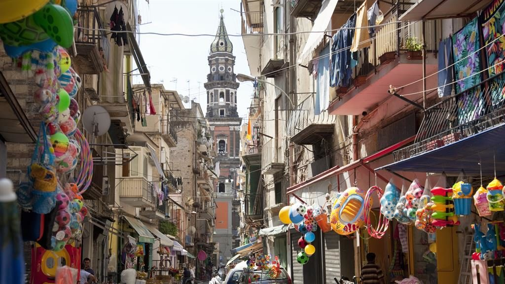 Street life: The Old Town of Naples, Rhys Jones's current favourite city