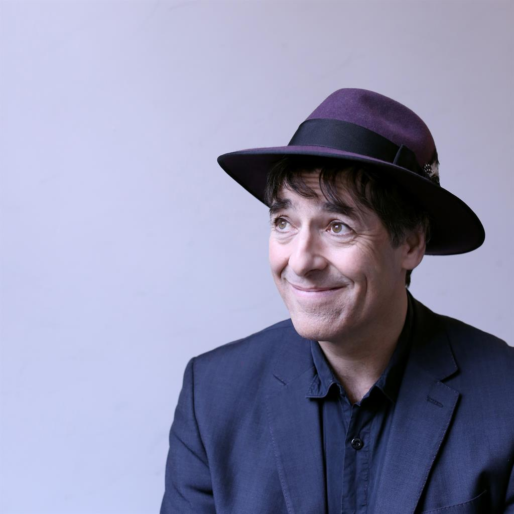 Multi-tasking: Mark Steel is also writing a book about tracking down his biological parents