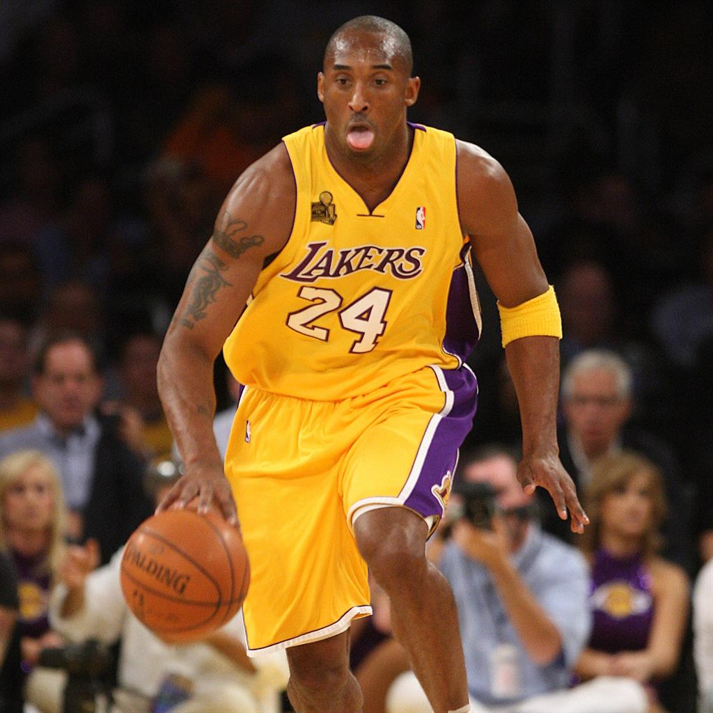 Sporting icon: Kobe Bryant spent his entire 20-year career at the LA Lakers PICTURE: ALAMY