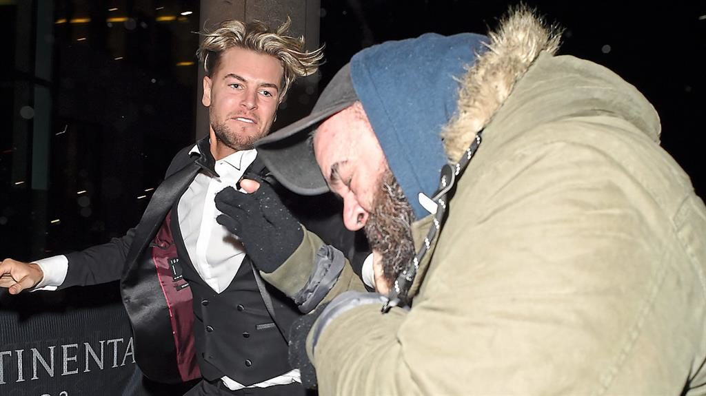 Chris Hughes apologises following 'altercation' outside the NTAs