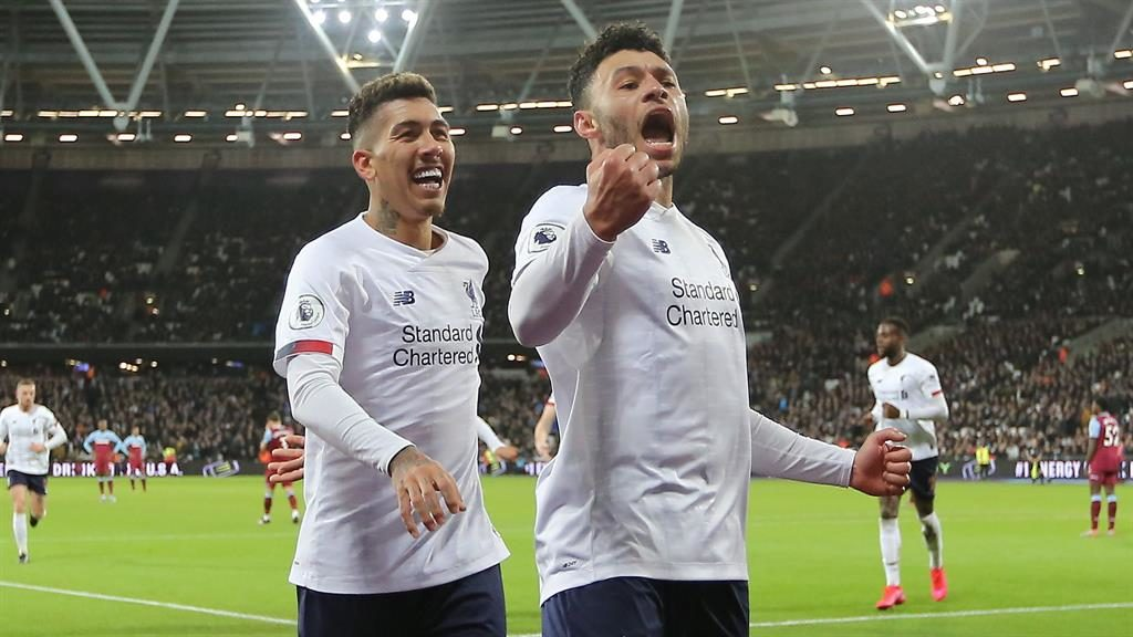 Free highlights: West Ham 0-2 Liverpool in 90 seconds