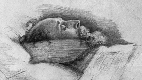 At rest: Dickens After Death by John Everett Millais PICTURE: CHARLES DICKENS MUSEUM