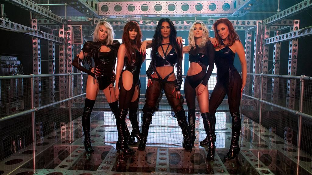 What's new Pussycats? The reunited Dolls – Kimberly, Jessica, Nicole, Ashley and Carmit