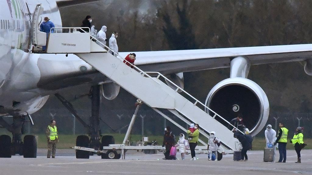 Coronavirus evacuees quarantined in Milton Keynes