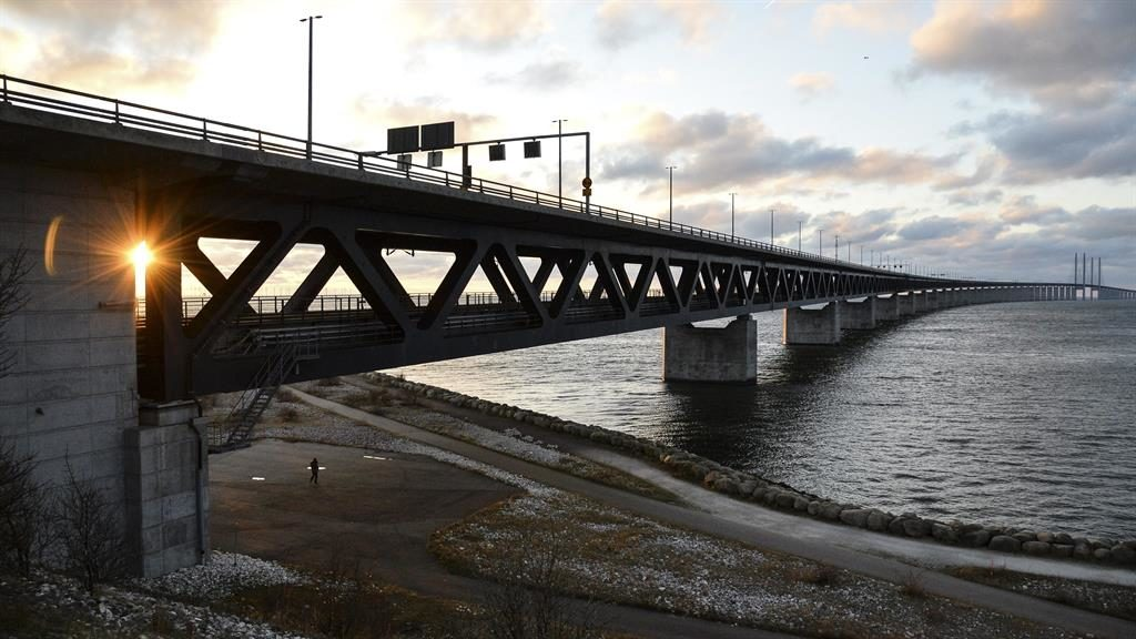 Spick and span: Suggested model, the Oresund Bridge in Scandinavia PICTURES: EPA/REX