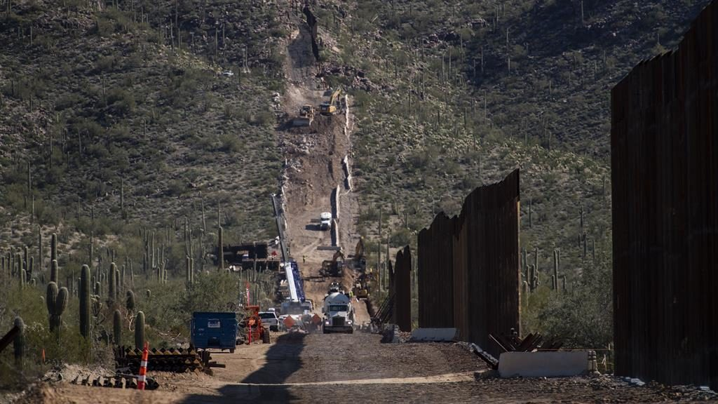 'Sacrilegious': The ancient burial site in Arizona is being blasted to build wall on US-Mexico border PICTURE: GETTY