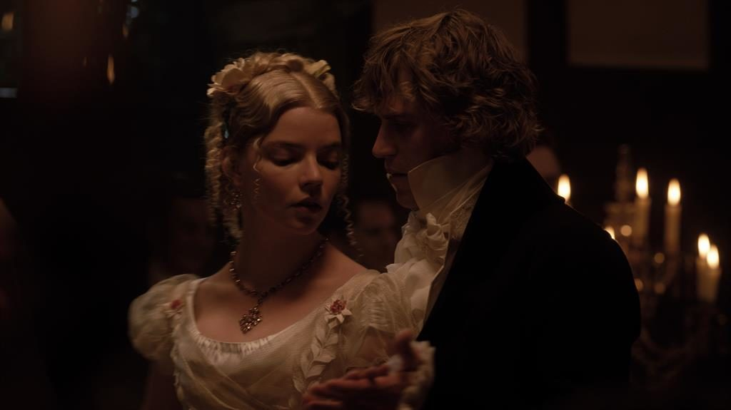 Smoulder to shoulder: Anya Taylor-Joy's Emma enjoys a steamy waltz with Mr Knightley (Johnny Flynn) PICTURES: FOCUS FEATURES