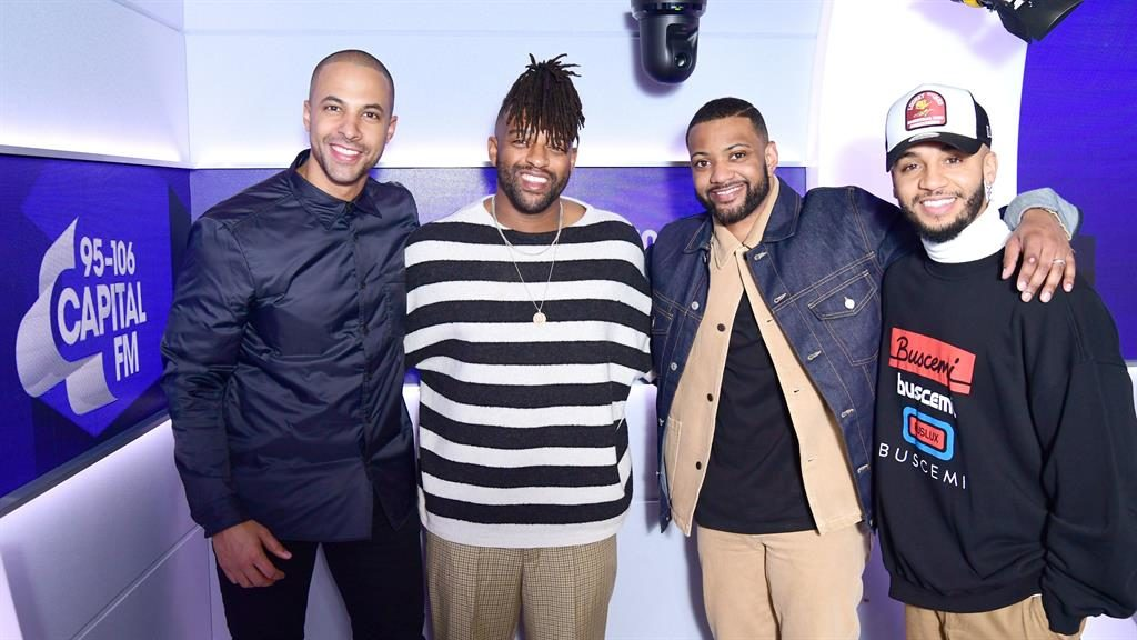 Beat again: JLS stars Marvin Humes, Oritse Williams, JB Gill and Aston Merrygold PICTURE: PA