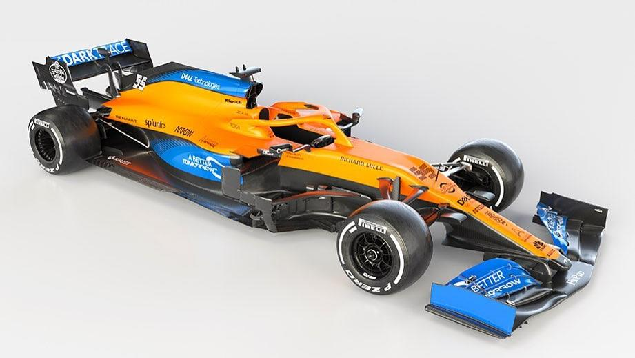 McLaren unveils its 2020 Formula 1 car