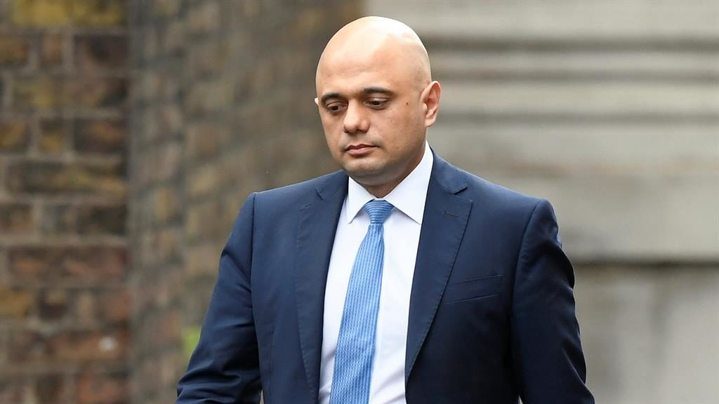 Short tenure: Sajid Javid did not even get to deliver a Budget before his exit PICTURE: REUTERS