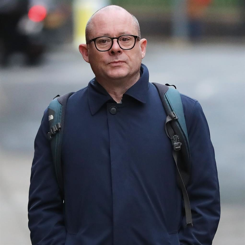 Greedy: Peter Hunter who sold tickets with partner David Smith PICTURE: BEN LACK