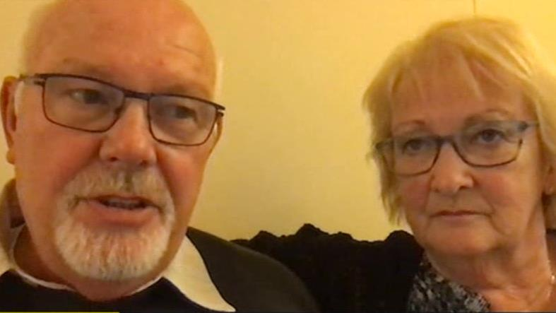 Fear being split up: David and Sally Abel