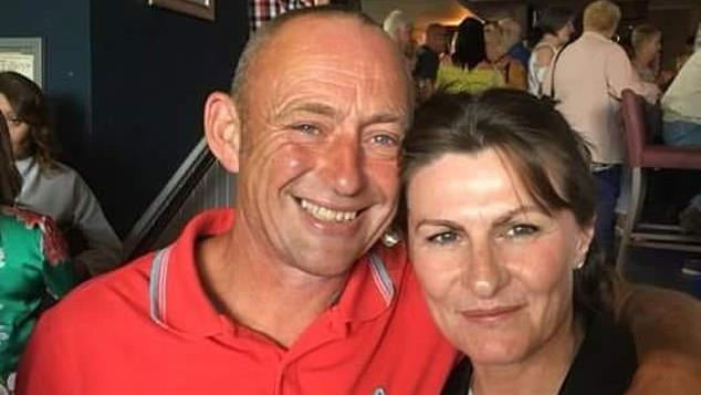 Abuser: Alan Martin, 53, killed his wife Kay, 49, after she accused him of rape