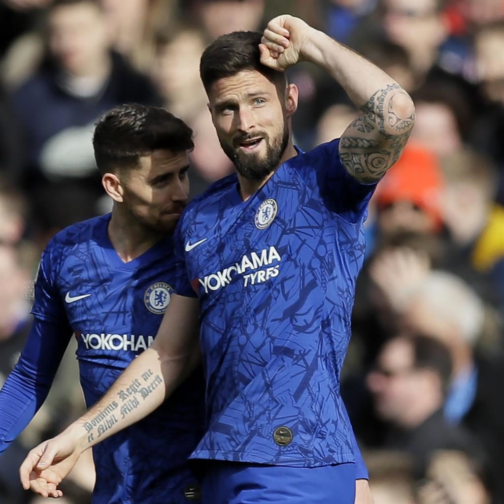 Giroud praises Chelsea's 'spirit' and 'character' in 2-1 win over Spurs