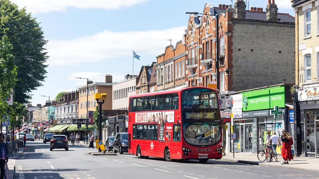 Keeping it real: There's a good mix of shops on the Uxbridge Road PICTURE: ALAMY