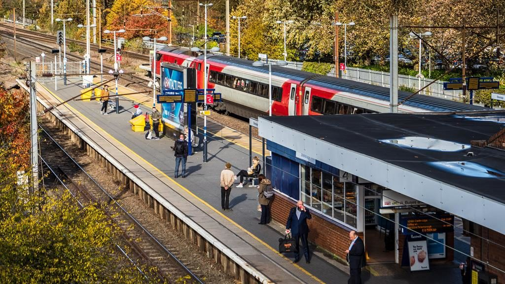 Connected: Trains from Stevenage get you into central London in 30 minutes