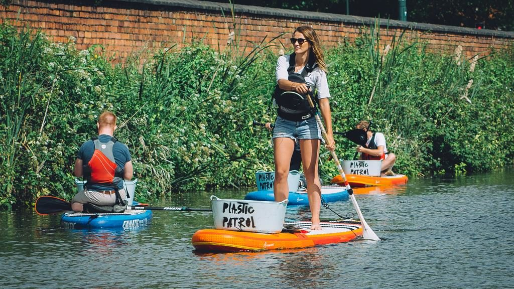 Stream team: Paddle board with Plastic Patrol and clean our waterways PICTURE: ANDY HEARGEAVES