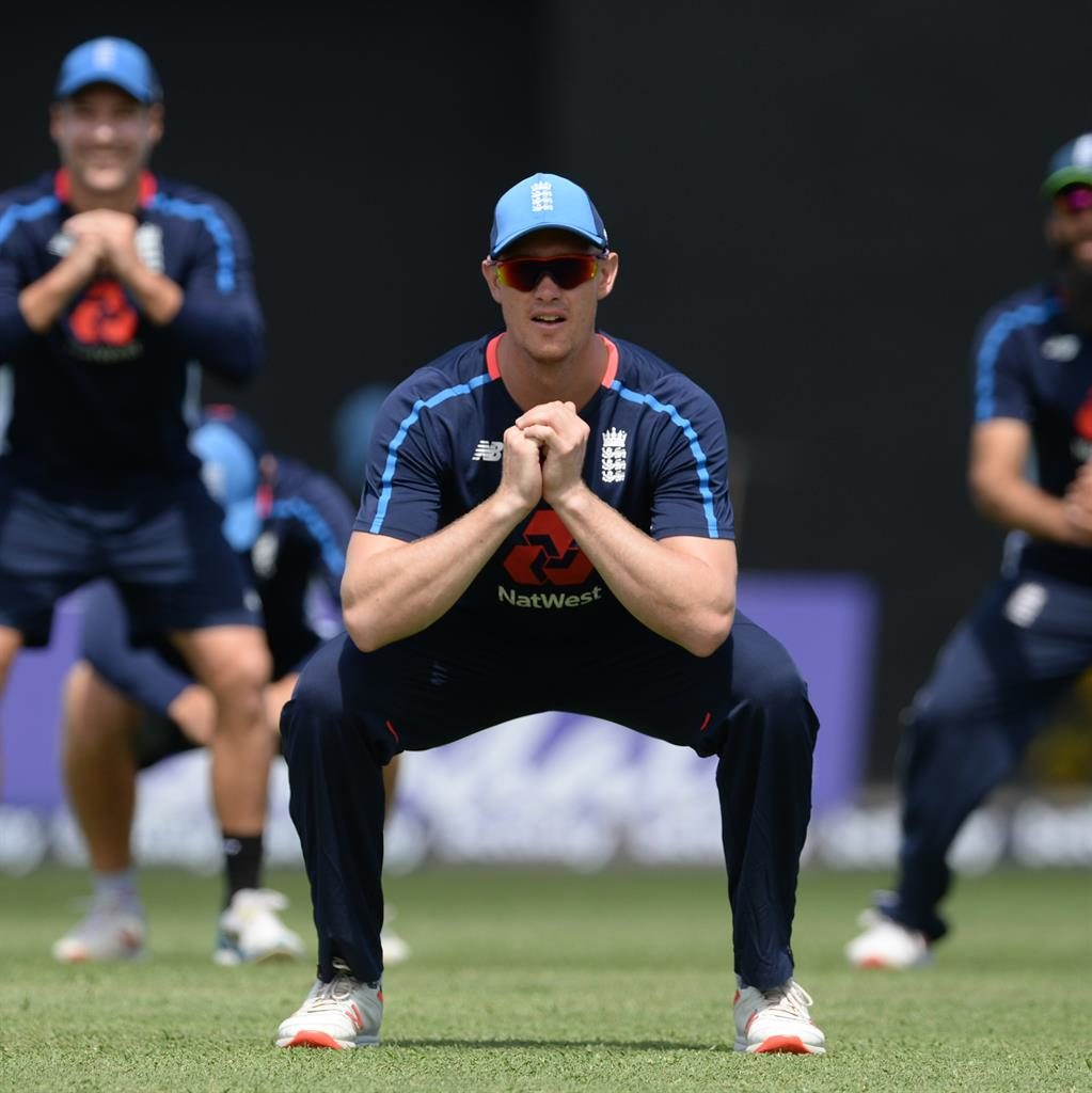 Sitting in: Jennings is back in the fray for England after Burns' injury PICTURE: GETTY