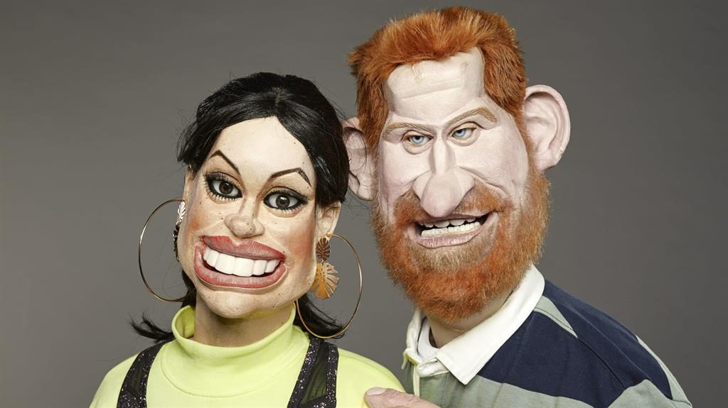 Spitting Image returns with Sussexes, Trumps and Johnson key targets