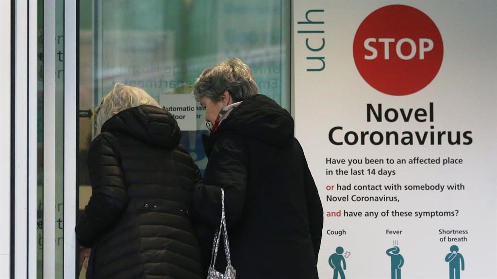 Elderly patient becomes first person in United Kingdom  to die from coronavirus