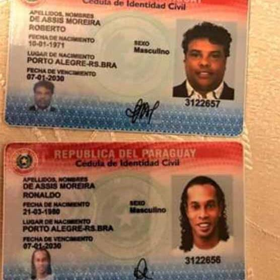 Ronaldinho arrested in Paraguay for allegedly holding fake passport