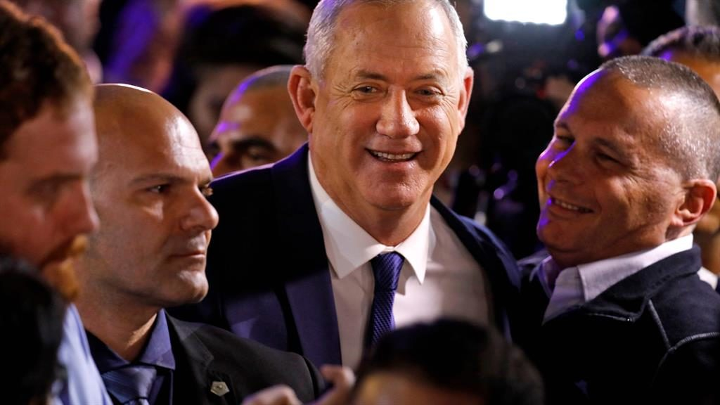 Security upped for Israel election challenger Gantz after threats
