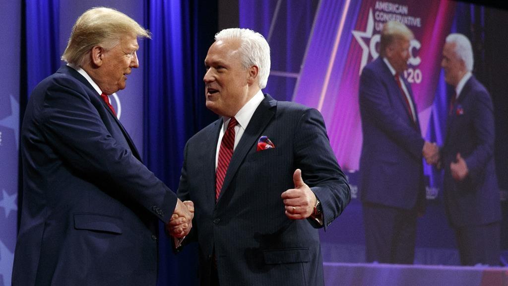 Donald Trump plays down coronavirus fears as US Republicans self-quarantine