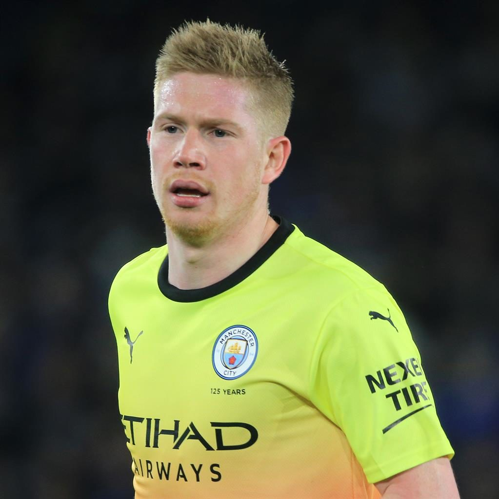 Fitness doubt: Kevin De Bruyne PICTURE: GETTY