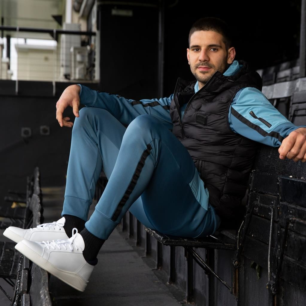 Best foot forward: Mitrovic has been prolific for club and country this season