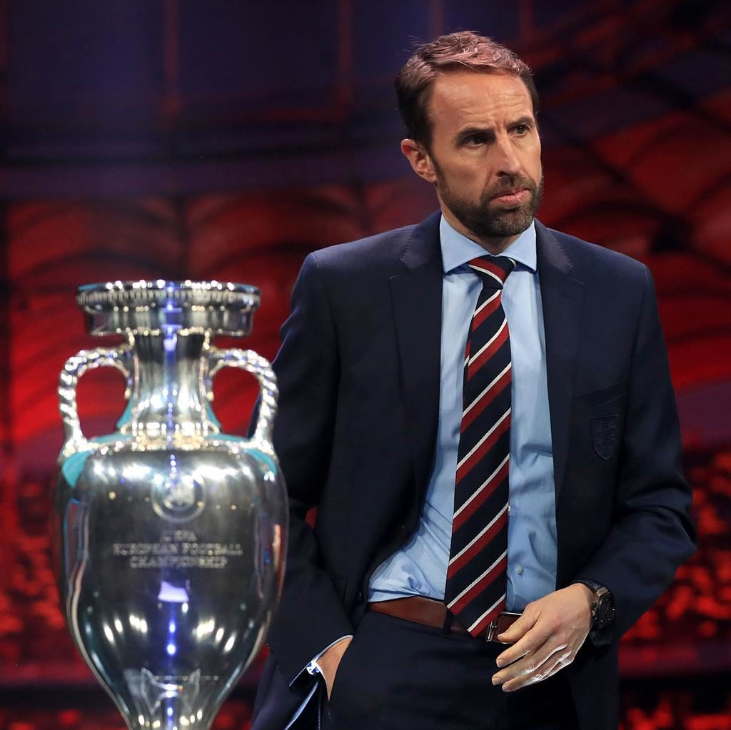 Out of focus: England manager Gareth Southgate has seen his trophy quest delayed PICTURE: PA